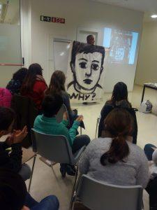 Pintura del projecte WHY