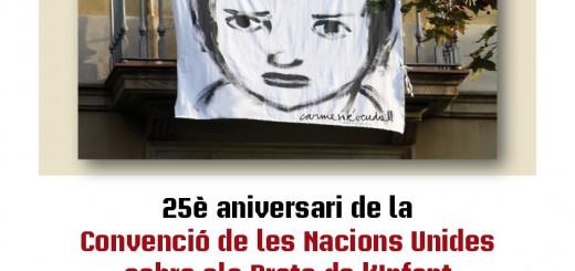 Cartell constitució CNIAC Dia Drets Infant