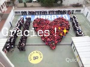 Escola Betúlia La Marató 2014
