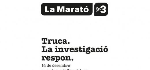 Cartell CIB La Marató TV3 2014