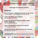 Cartell La Marató 2014 (Escola Progrés)