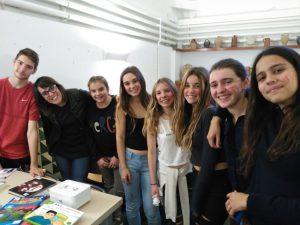 Alumnes del Garbí Pere Vergés voluntaris a l'acte