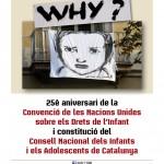 Cartell constitució CNIAC i Dia dels Drets de l'Infant